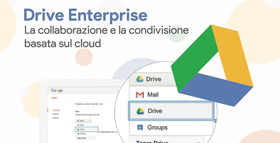 Drive Enterprise: archiviazione sicura con Google