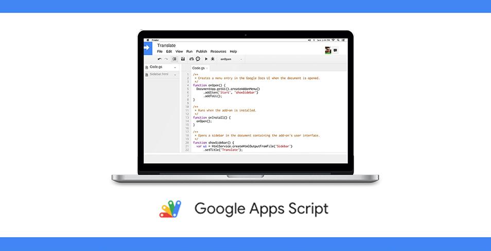A che cosa servono i Google Apps Script?