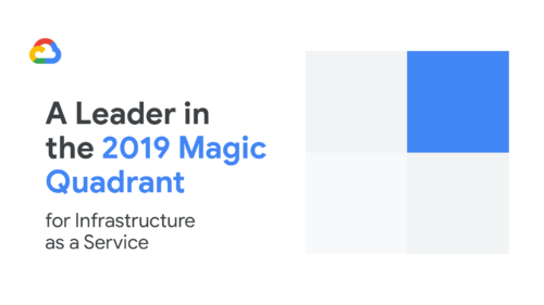 Magic Quadrant Gartner 2019 Google Cloud