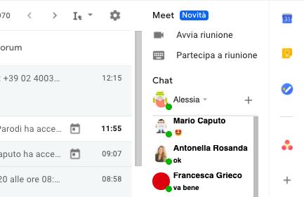 Novità Google Meet