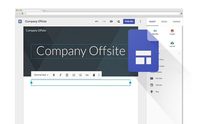 Nuove funzionalità per Google Sites