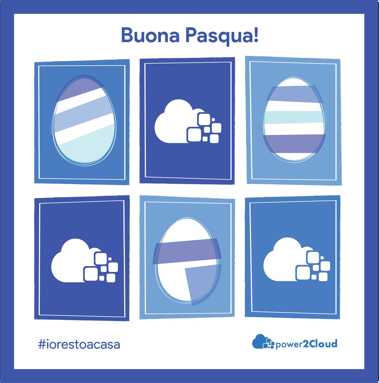 Buona Pasqua dal team di power2Cloud iorestoacasa