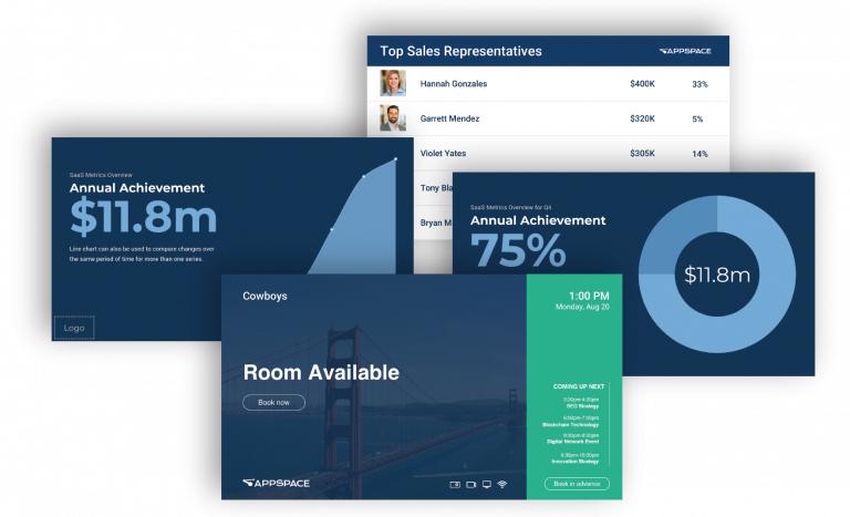 Digital signage software grazie ad Appspace gestisci tutti i tuoi display