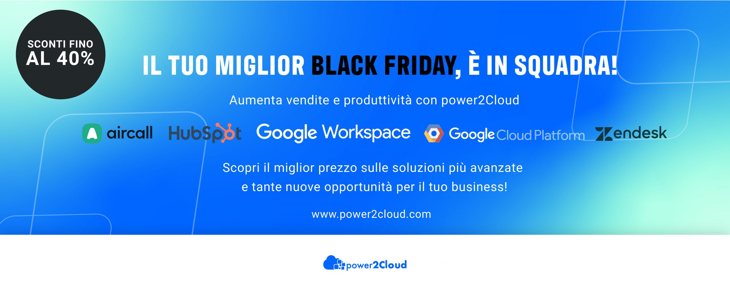 Offerte Black Friday power2Cloud