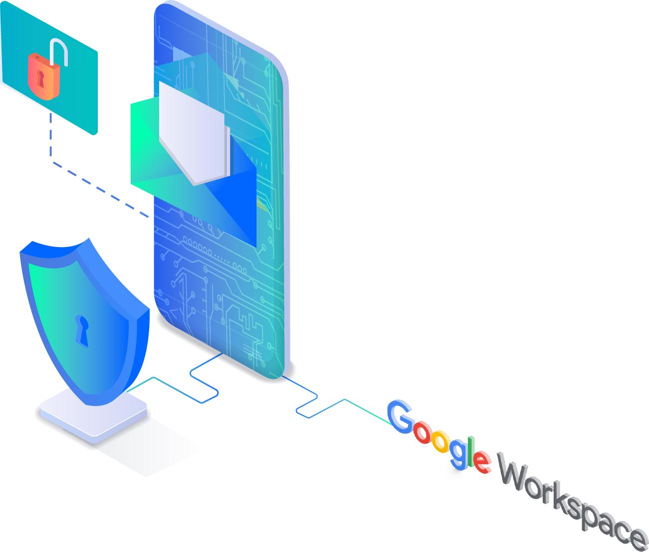 La stessa infrastruttura e protezione integrata che utilizza Google